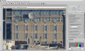 Nikon D800E Foto mit Moirè Effekt