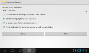 Google Konto in Android Tablet einrichten